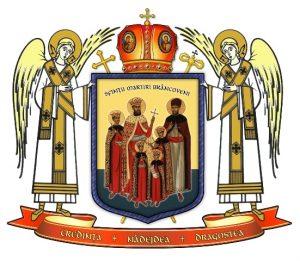 Stema-Mitropoliei Ortodoxe Române a Germaniei, Europei Centrale şi de Nord